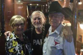 Willie Nelson Meets with Idaho Family Farmers