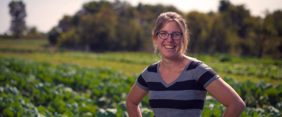 Kate Edwards is growing food and building a community